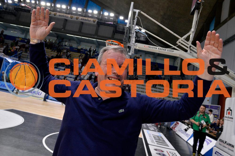 Matteo Bonetti<br /> Vanoli Cremona - Germani Basket Brescia Leonessa<br /> Lega Basket Serie A 2016/2017<br /> Cremona, 09/04/2017<br /> Foto M.Ceretti / Ciamillo - Castoria