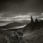 Looking over the old man of Storr to Applecross, Isle of Skye