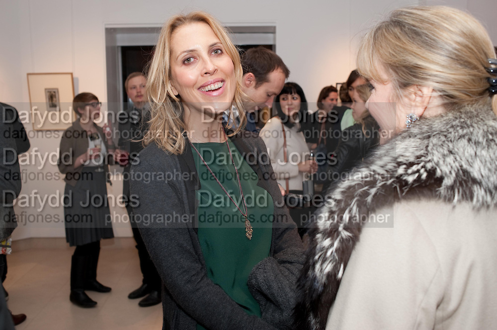 TATJANA D;ABO; YVONNE WINKLER, SANCTUARY: BRITAIN'S ARTISTS AND THEIR STUDIOS -Book launch, Christie's King Street, St James 13 March 2012.