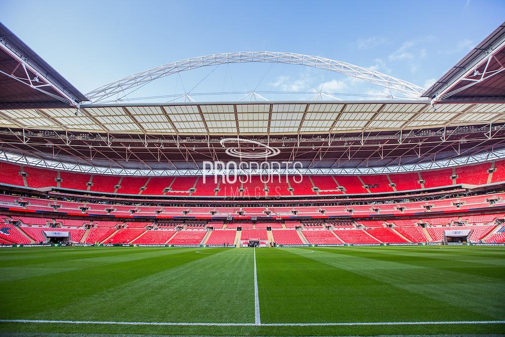 Wembley Stadium  during the UEFA European 2016 Qualifying match between England and Switzerland at Wembley Stadium, London, England on 8 September 2015. Photo by Shane Healey.