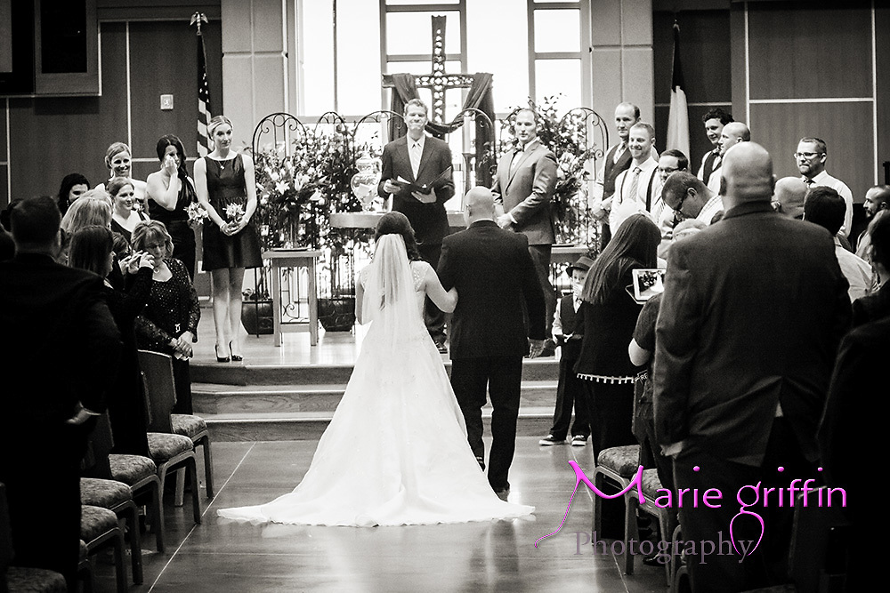 Katie Lewis and Joe Compton's wedding day photos at St. Andrew United Methodist Church and reception at Stampede Country Bar on Nov. 2, 2013<br /> By: Marie Griffin Dennis<br /> mariefgriffin@gmail.com<br /> mariegriffinphotography.com