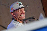 Jimmy Spithill, Challengers Oracle Team USA, press conference during the 35th America's Cup 2017, Day 4, on June 25, 2017 in Hamilton, Bermuda - Photo Christophe Favreau / ProSportsImages / DPPI