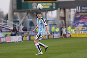 Huddersfield Town midfielder Joe Lolley (18)  during the Sky Bet Championship match between Huddersfield Town and Burnley at the John Smiths Stadium, Huddersfield, England on 12 March 2016. Photo by Simon Davies.