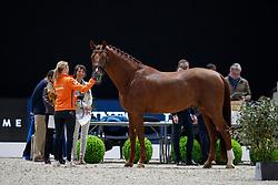 Witte-Vrees Madeleine, NED, Cennin<br /> LONGINES FEI World Cup™ Finals Paris 2018<br /> © Dirk Caremans<br /> 12/04/2018