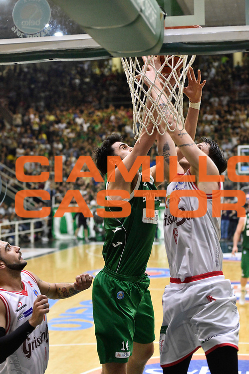 Avellino 28.05.2016<br /> Basket Serie A - Playoff Semifinali Gara 6<br /> Sidigas Avellino - Grissin Bon Reggio Emilia<br /> <br /> Nella foto: Riccardo Cervi