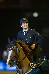 De Luca Lorenzo, (ITA), Halifax van het Kluizenbos<br /> Open Sires of the World Zangersheide<br /> Vlaanderens Kerstjumping Memorial Eric Wauters<br /> © Dirk Caremans<br /> 27/12/2016
