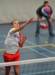 18-02-2012 VOLLEYBAL: TAUW GEMINI S - VOCASA: HILVERSUM<br /> B League heren, VoCASA wint vrij eenvoudig in Hilversum 22-25, 20-25, 22-25 / Bas Markus<br /> ©2012-FotoHoogendoorn.nl