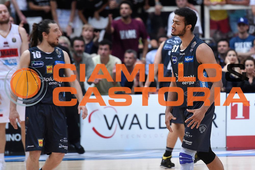 Shavon Shields<br /> Dolomiti Energia Aquila Basket Trento - Umana Reyer Venezia<br /> Lega Basket Serie A 2016/2017<br /> Playoff, finale gara 3<br /> Trento, 14/06/2017<br /> Foto M.Ceretti / Ciamillo-Castoria