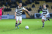Forest Green Rovers Charlie Clough(5) on the ball during the Vanarama National League match between Torquay United and Forest Green Rovers at Plainmoor, Torquay, England on 26 December 2016. Photo by Shane Healey.