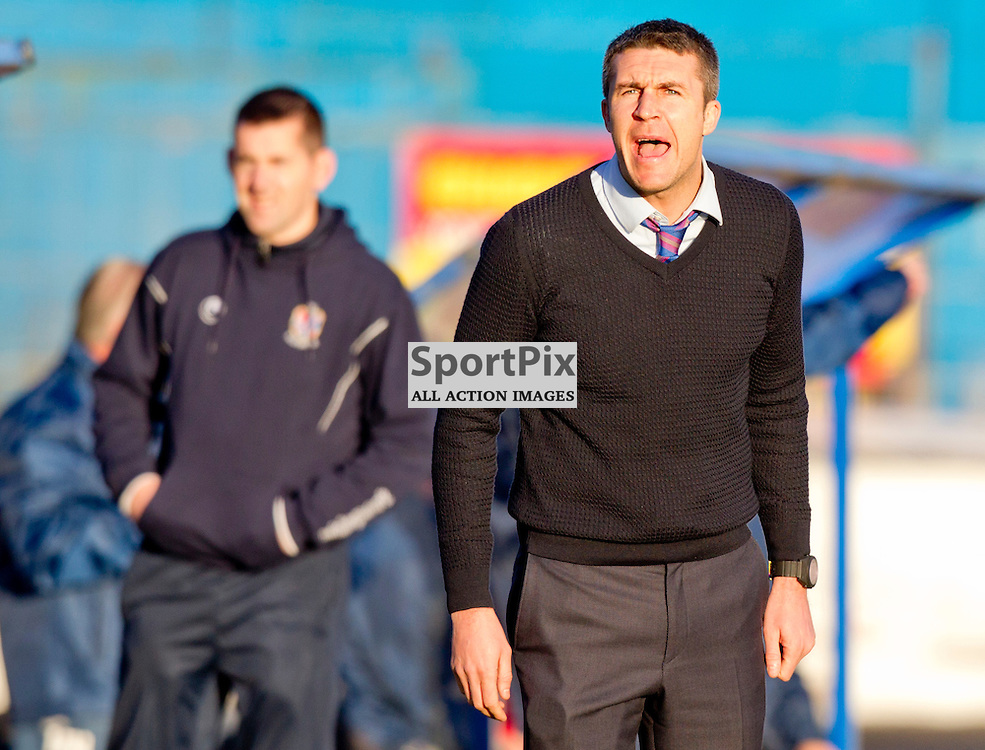 Cowdenbeath v Dunfermline Athletic SPFL League One Season 2015/16 Central Park 31 October 2015<br /> Manager Colin Nish<br /> CRAIG BROWN | sportPix.org.uk