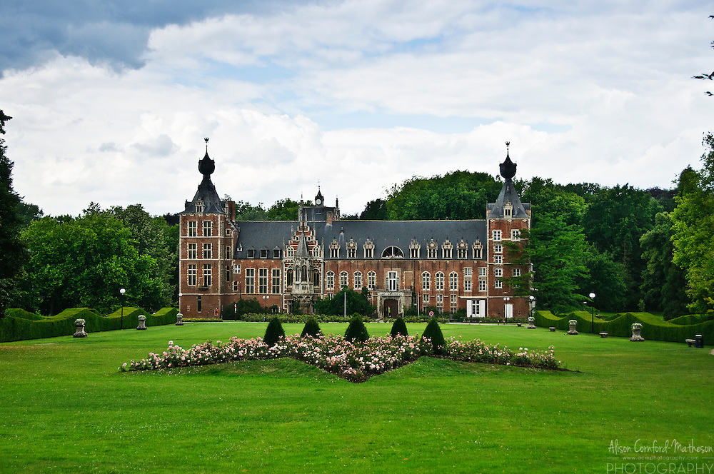 Kasteel van Arenberg, or The Castle of Arenberg, is now part of the KU Leuven campus.