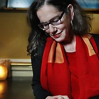 Nederland, Utrecht , 27 november 2014.<br /> De Amerikaans-Joodse moraalfilosofe Susan Neiman.<br /> Foto:Jean-Pierre Jans