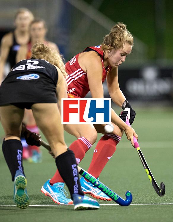 AUCKLAND - Sentinel Hockey World League final women<br /> Match id: 10310<br /> 20 ENG v NZL (Semi Final) 0-1<br /> New Zealand play the final<br /> Foto:  <br /> WORLDSPORTPICS COPYRIGHT FRANK UIJLENBROEK