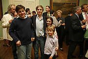 Frederick,  Alexander, Sophie and Tommy Coleridge. . ( oldest) , Book launch of 'A Much Married Man' by Nicholas Coleridge. English Speaking Union. London. 4 May 2006. ONE TIME USE ONLY - DO NOT ARCHIVE  © Copyright Photograph by Dafydd Jones 66 Stockwell Park Rd. London SW9 0DA Tel 020 7733 0108 www.dafjones.com