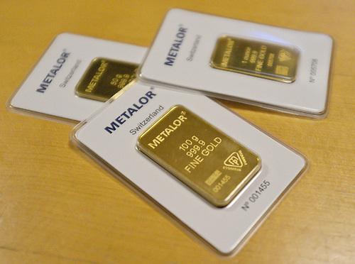 100g gold bar dimensions