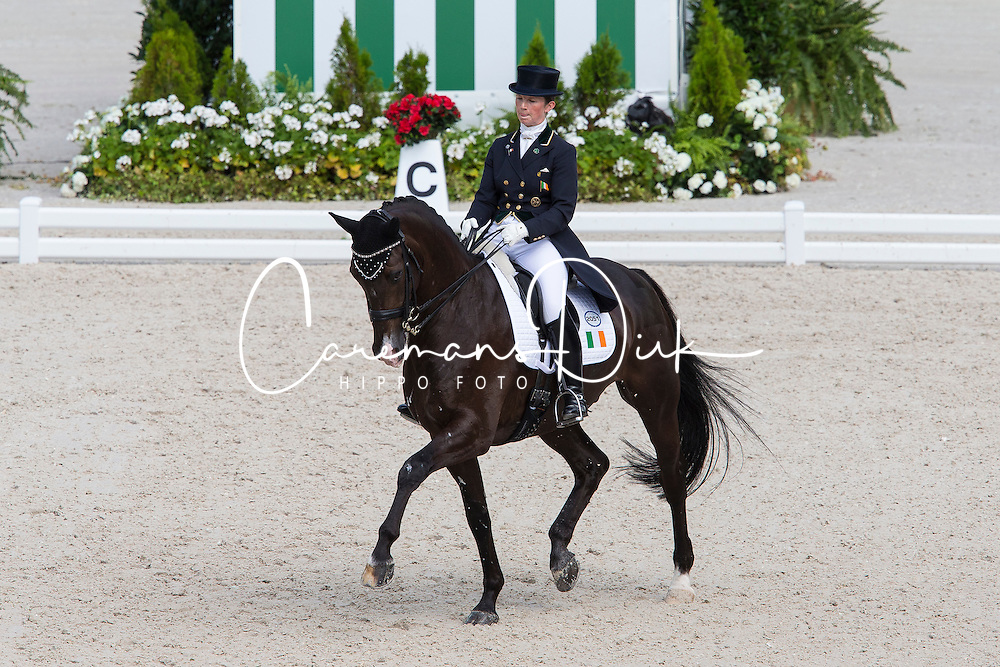 Judy Reynolds, (IRL), Vancouver K - Grand Prix Team Competition Dressage - Alltech FEI World Equestrian Games&trade; 2014 - Normandy, France.<br /> &copy; Hippo Foto Team - Leanjo de Koster<br /> 25/06/14