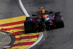 August 31, 2019, Francorchamps, Belgium: ALEXANDER ALBON of Aston Martin Red Bull Racing during qualifying of the Formula 1 Belgian Grand Prix at Circuit de Spa-Francorchamps in Francorchamps, Belgium. (Credit Image: © James Gasperotti/ZUMA Wire)