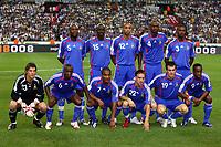 Paris/Parigi 6/9/2006 Stade de France Eliminatorie Euro 2008. France Italy 3-1 Francia Italia 3-1. Photo Andrea Staccioli INSIDE/Digitalsport<br /> France: William GALLAS, Liliam THURAM, Thierry HENRY, Patrick VIEIRA, Eric ABIDAL<br /> Bottom Gregory COUPET, Claude MAKELELE, Florent MALOUDA, Franck RIBERY, Willy SAGNOL, Sidney GOVOU<br /> Team picture<br /> Norway only