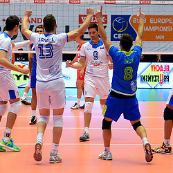 20130920: DEN, Volleyball - CEV Volleyball European Championship Men, Slovenia vs Serbia