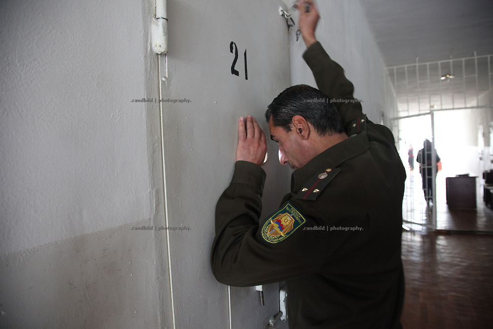 The Women and Youth Prison Abovian near the armenian capital Yerevan. Abovian, where about 200 criminal offenders are imprisoned, represents the most modern jail of Armenia, even many devlopements must be done to become western european standart.