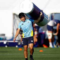 SHIZUOKA, JAPAN - SEPTEMBER 30: General views during the South African national rugby team training session at Nexta Training Field on September 30, 2019 in Shizuoka, Japan. (Photo by Steve Haag/Gallo Images)