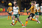 Mamadou Thiam of Barnsley during the EFL Sky Bet Championship match between Hull City and Barnsley at the KCOM Stadium, Kingston upon Hull, England on 27 February 2018. Picture by Craig Zadoroznyj.