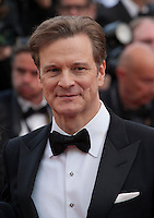 Actor Colin Firth at the gala screening for the film Loving at the 69th Cannes Film Festival, Monday 16th May 2016, Cannes, France. Photography: Doreen Kennedy