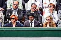 Sylvain WILTORD  / Michele Laroque - 29.05.2015 - Jour 6 - Roland Garros 2015<br />Photo : Dave Winter / Icon Sport