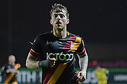 Bradford City striker Billy Clarke (10) 0-0 during the EFL Trophy match between Oxford United and Bradford City at the Kassam Stadium, Oxford, England on 31 January 2017. Photo by Alan Franklin.