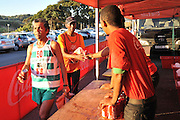 BELLVILLE, SOUTH AFRICA - Wednesday 3 December 2014, Coke stand during the Metropolitan 10km road race outside the Parc Du Cap head office in Bellville.<br /> Photo by IMAGE SA / Roger Sedres