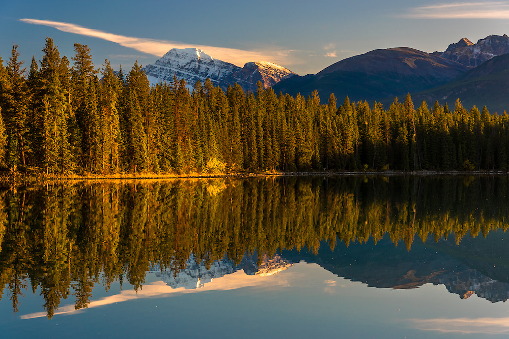 Lake Annette Jasper Alberta, Canada