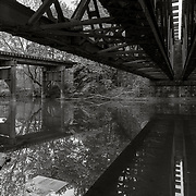 Mill Street Rail Bridges, West Branch, Pittsfield, MA