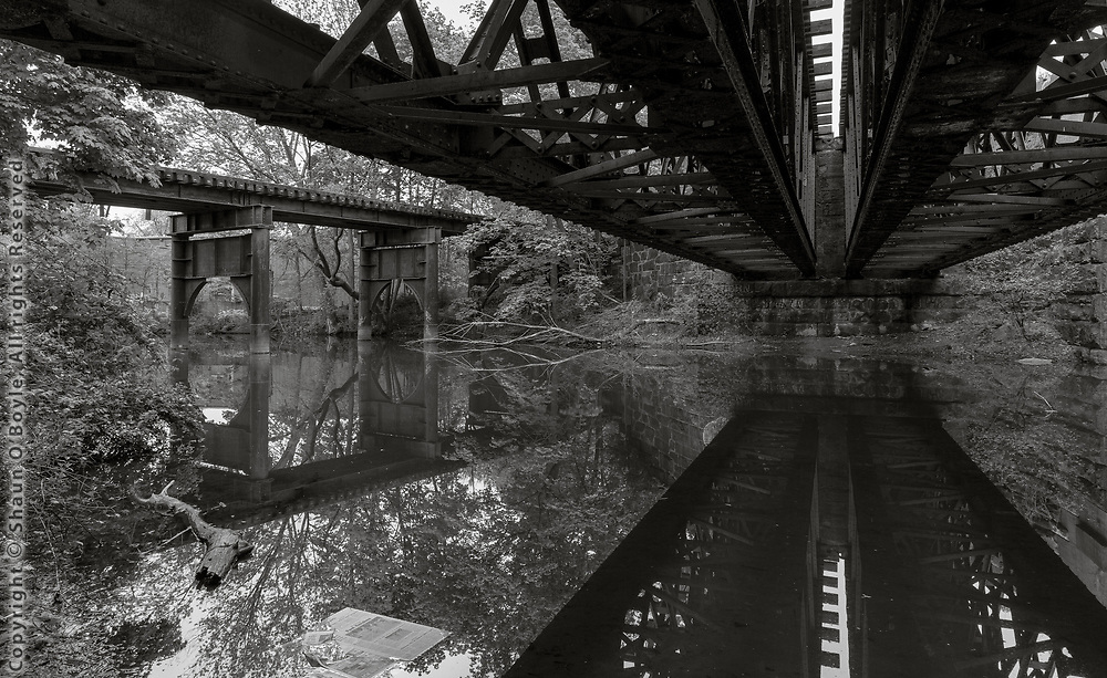 Mill Street Rail Bridges, West Branch, Pittsfield, MA