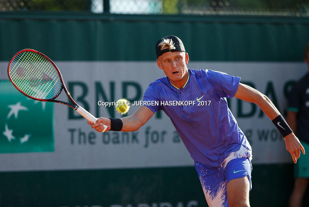 NICOLA KUHN (ESP) Junior Boys<br /> <br /> Tennis - French Open 2017 - Grand Slam / ATP / WTA / ITF -  Roland Garros - Paris -  - France  - 4 June 2017.