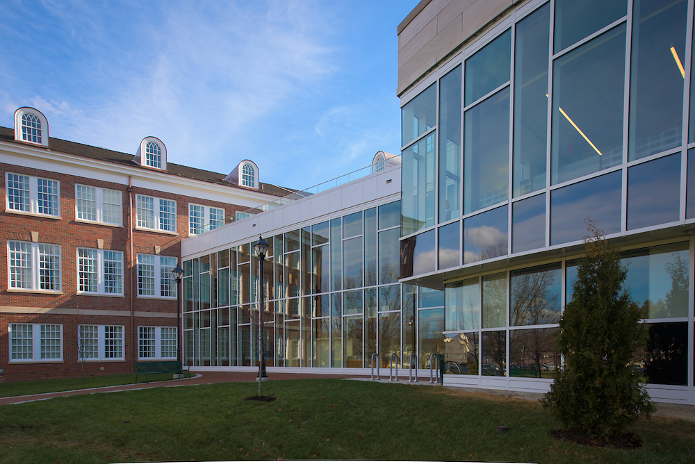 The newly renovated McCracken Hall on February 2, 2017.