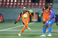 Romain PHILIPPOTEAUX - 14.03.2015 - Lorient / Caen - 29eme journee de Ligue 1<br /> Photo : Vincent Michel / Icon Sport