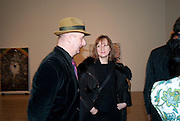 JESSICA VOORSANGER; BOB AND ROBERTA SMITH, Chris Ofili dinner to celebrate the opening of his exhibition. Tate. London. 25 January 2010