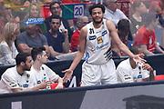 Shields Shavon delusione, EA7 EMPORIO ARMANI OLIMPIA MILANO vs DOLOMITI ENERGIA TRENTINO, gara 5 Finale Play off Lega Basket Serie A 2017/2018, Mediolanum Forum, Assago (MI) 13 giugno 2018 - FOTO: Bertani/Ciamillo