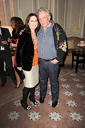 ALEXANDRA SHULMAN and DAVID BAILEY at a dinner hosted by Vogue in honour of photographer David Bailey at Claridge's, Brook Street, London on 11th May 2010.