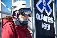 Anna Segal during Women's Ski Slopestyle Practice at the 2013 X Games Aspen at Buttermilk Mountain in Aspen, CO.  Brett Wilhelm/ESPN