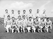 Neg No:.871/a1908-a1909..1955AISFCSF...All Ireland Senior Football Championship - Semi-Final..21.08.1955. 08.21.1955, 21st August 1955.Dublin.1-8..Mayo.1-7..Dublin. ..P. O'Flaherty, D. Mahony (Captain), J. Lavin, M. Moylan, Maurice Whelan, J. Crowley, N. Maher, J. McGuinness, C. O'Leary, D. Ferguson, O. Freaney, J. Boyle, P. Haughey, K. Heffernan, C. Freaney.Subs: T. Jennings for McGuinness; W. Monks for Jennings.D. Mahony (Captain). ..Galway. .K. Croke, S. Naughton, T. Broderick, S. Keane, P. Davis, A. ODwyer, S. Murray, M. Fox, P. J. Lally, N. Murray, T. Ryan, L. Marmion, T. Flanagan, E. Newell, S. Gannon..Sub: N. ONeill for T Ryan. ....RESCAN