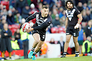 New Zealand's Lewis Brown during the Ladbrokes Four Nations match between Australia and New Zealand at Anfield, Liverpool, England on 20 November 2016. Photo by Craig Galloway.