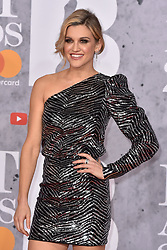 February 20, 2019 - London, United Kingdom of Great Britain and Northern Ireland - Ashley Roberts arriving at The BRIT Awards 2019 at The O2 Arena on February 20, 2019 in London, England  (Credit Image: © Famous/Ace Pictures via ZUMA Press)
