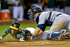 20140403 - Seattle Mariners at Oakland Athletics