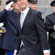 NLD/Amsterdam/20130430 - Inhuldiging Koning Willem - Alexander, premier Mark Rutte