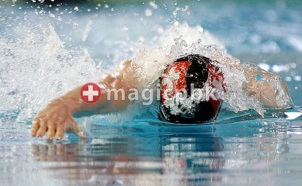 Karel Novy of Switzerland competes in the men's 50m freestyle heats on day one at the European Short-Course Swimming Championships in Trieste, Italy, Thursday December 8, 2005. (Photo by Patrick B. Kraemer / MAGICPBK)