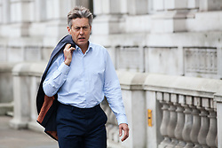 London, UK. 6th December, 2018. Ben Bradshaw, Labour MP for Exeter, arrives for a Privy Council meeting at the Cabinet Office.
