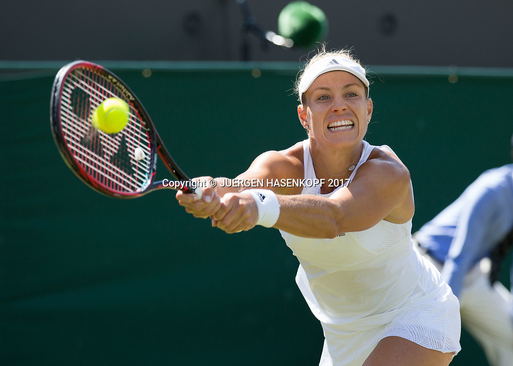 ANGELIQUE KERBER (GER)<br /> <br /> Tennis - Wimbledon 2017 - Grand Slam ITF / ATP / WTA -  AELTC - London -  - Great Britain  - 10 July 2017.
