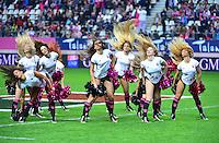 Pom Pom Girls - 24.04.2015 - Stade Francais / Stade Toulousain - 23eme journee de Top 14<br />Photo : Dave Winter / Icon Sport