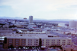 Las Vegas Nevada,  circa 1968<br /> <br />  Photos taken by George Look.  Image started as a color slide.